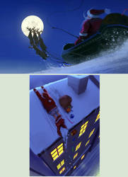 Santa by Hideyoshi