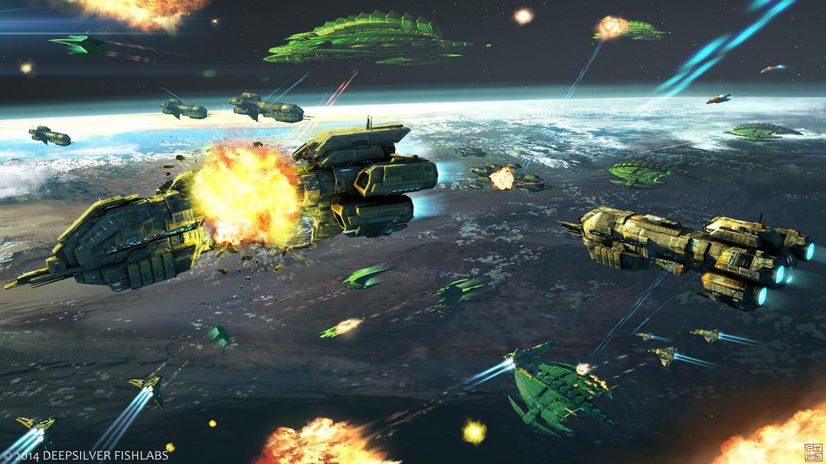 galactic space war