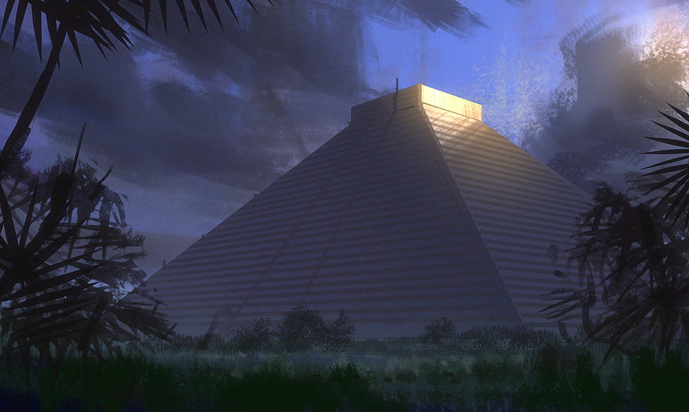Aztec-Temple by Hideyoshi