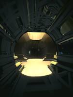 Cyberpunk Sewer by Hideyoshi
