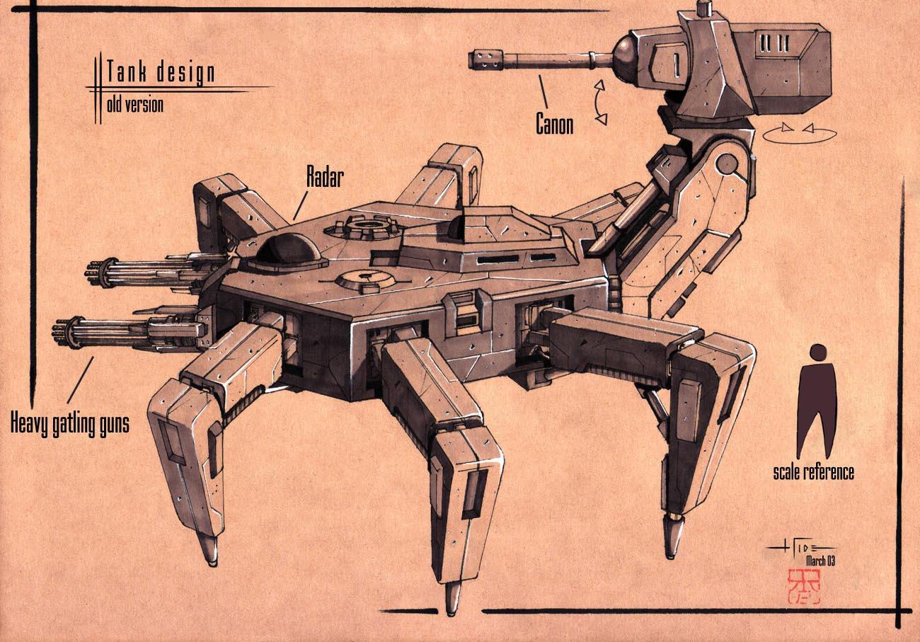 :Tank design: by Hideyoshi