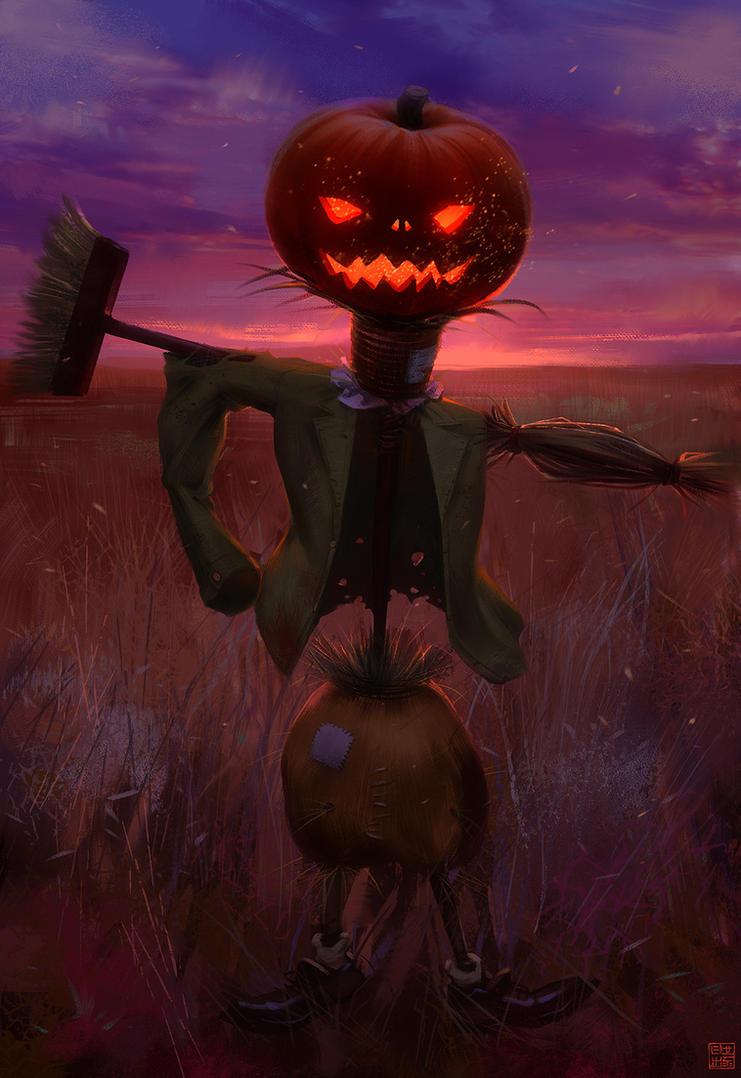 Halloween 2014 Scarecrow by Hideyoshi