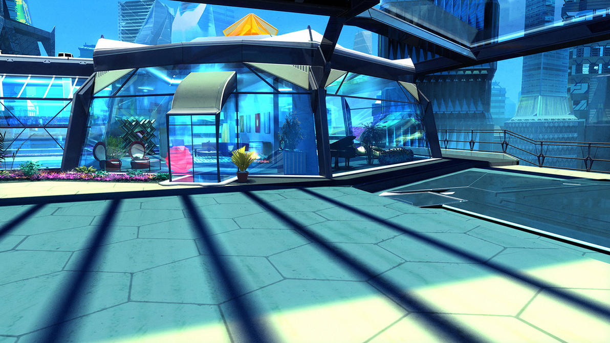 Prismata - Rooftop Penthouse by Hideyoshi