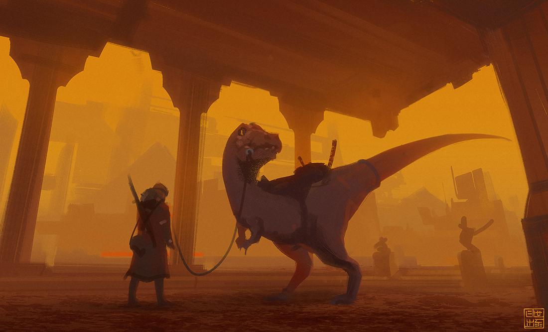 Sandstorm by Hideyoshi