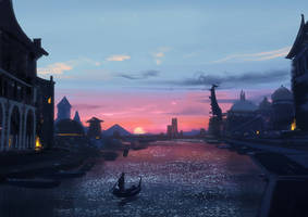 Canal City by Hideyoshi