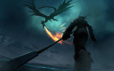 Dragon Lance by Hideyoshi