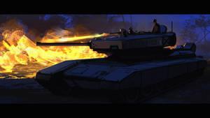 Flamethrower Tank