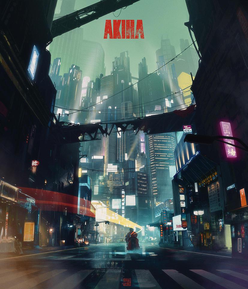 Akira by Hideyoshi