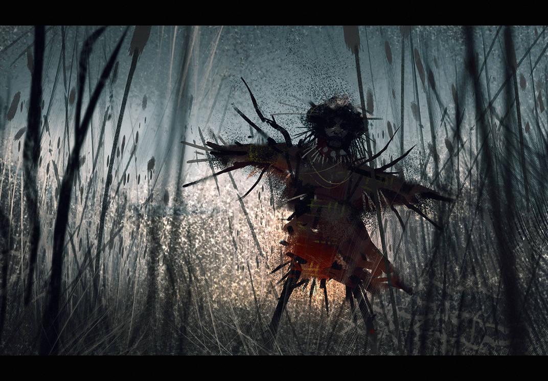 Creeping through the tall grass by Hideyoshi