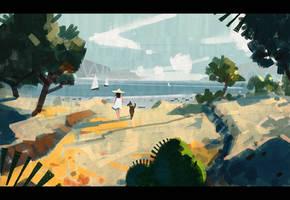 Summer at the Lake by Hideyoshi