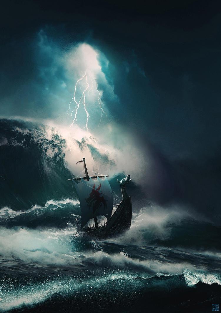 Schwarzer Sturm by Hideyoshi