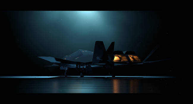 XF-77 'Crow' - Stealth Plane