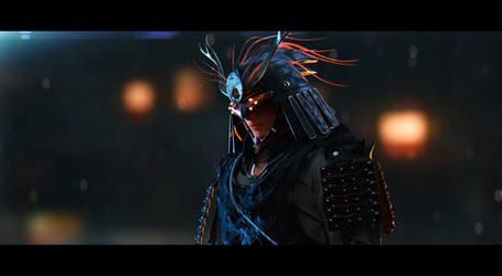 Yamiten - 3D concept - cinematic shot by Hideyoshi