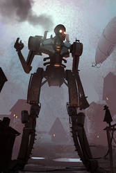 Steampunk Giant