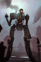 Steampunk Giant by Hideyoshi