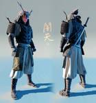 Yamiten - 3D concept - full body