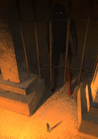 God prison by Hideyoshi