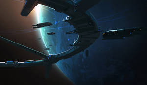 Space Docks - Video Timelapse