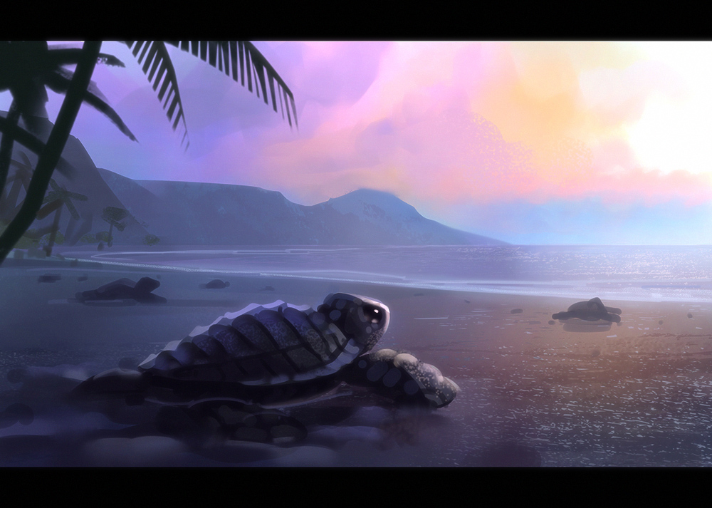Turtle Island by Hideyoshi