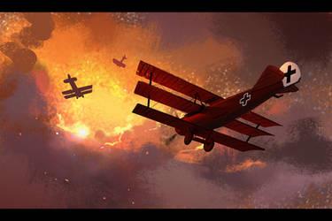 Red Baron by Hideyoshi
