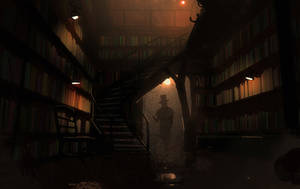 Quaint Bookstore by Hideyoshi