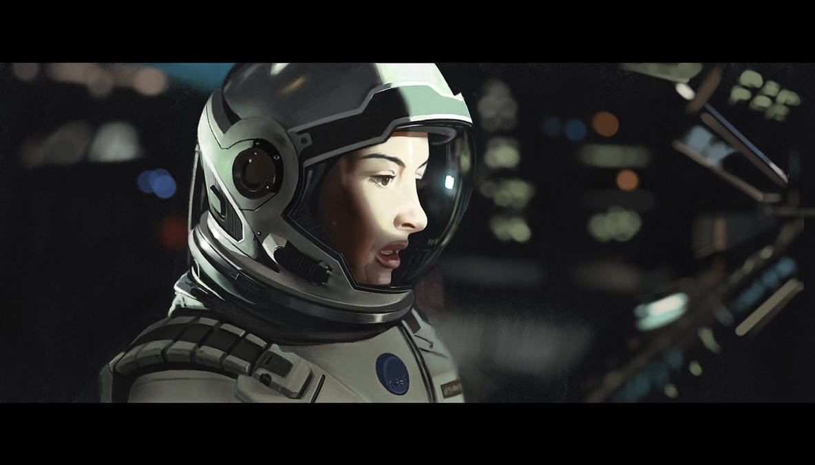 Interstellar - Procreate iPhone painting by Hideyoshi