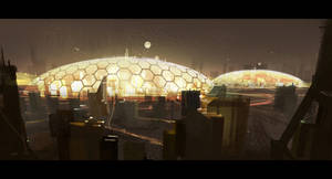 Dome City by Hideyoshi