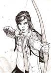 Ellie - The Last of Us 2 - Inktober