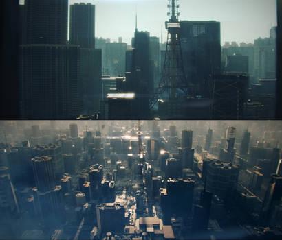 Digital Cinematography - CG City - Blender