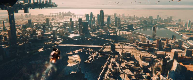 Terrace City - Blender VFX