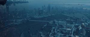 Terrace City - Overcast Mood - Blender VFX