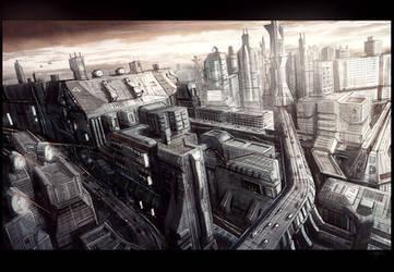 Windy City by Hideyoshi