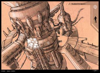 Ind. Design: Mother Machine by Hideyoshi