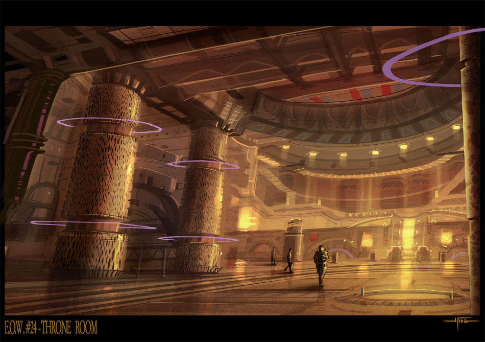 THRONE ROOM by Hideyoshi