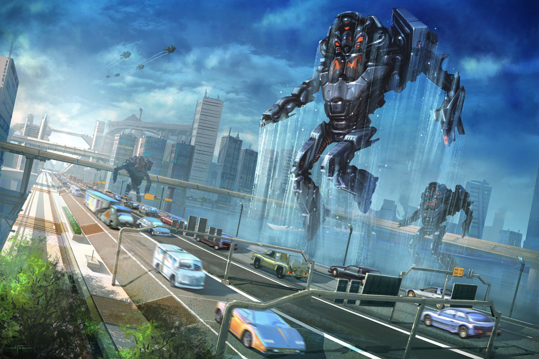 Metalman Project - Invasion