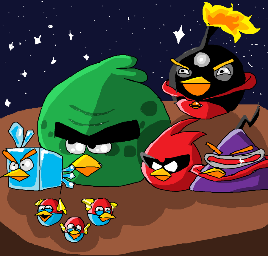 Angry birds space by supermarioguy on deviantart - Angry birds space gratuit ...