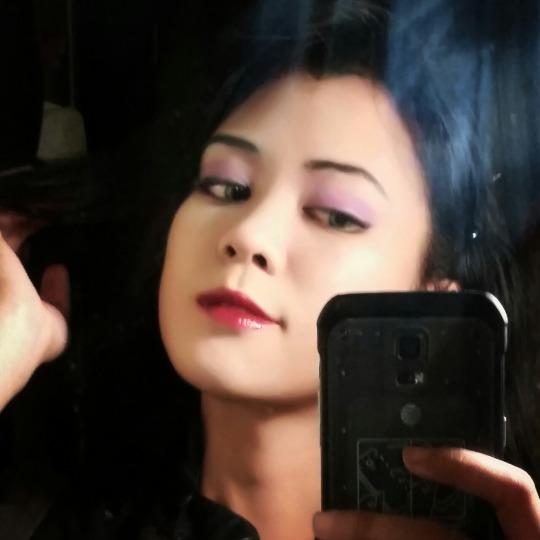 Closet Cosplay Makeup Test - Asami Sato by AnimantX