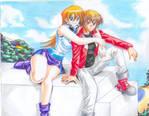 Judai and Asuka resized image