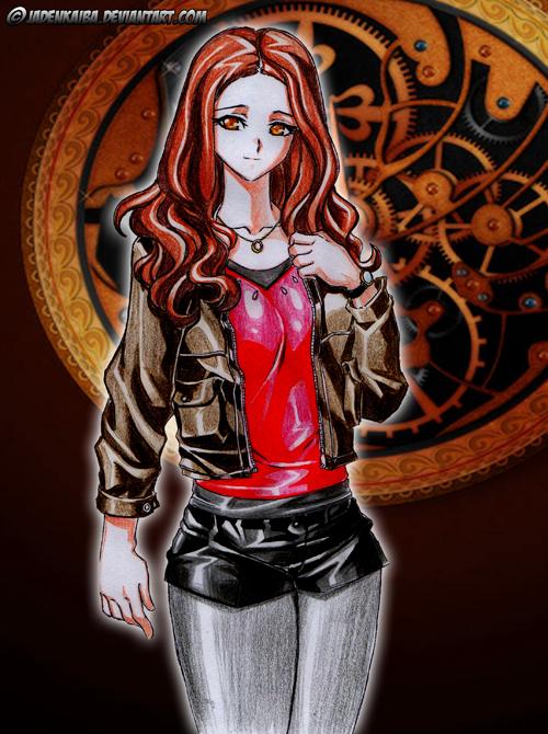 Commission: Amy Pond by jadenkaiba