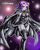 Commission: Raven by jadenkaiba