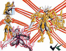 Commision: Armor Upgrades by jadenkaiba