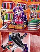 Commission: Twilight Sparkle by jadenkaiba