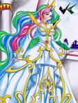 Commission: Princess Celestia