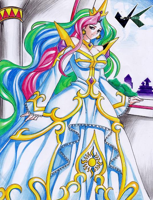 Commission: Princess Celestia by jadenkaiba