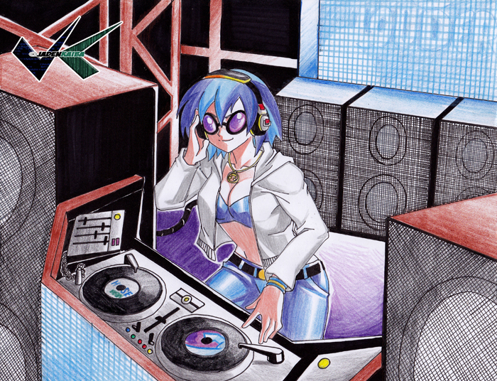 Commission: DJ Pon3 by jadenkaiba