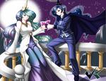 Commission: Celestia and Luna