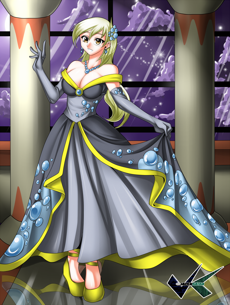 Commission: Derpy Hooves Gala Dress by jadenkaiba