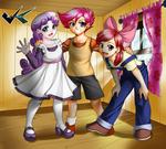 Commission : Cutie Mark Crusaders by jadenkaiba