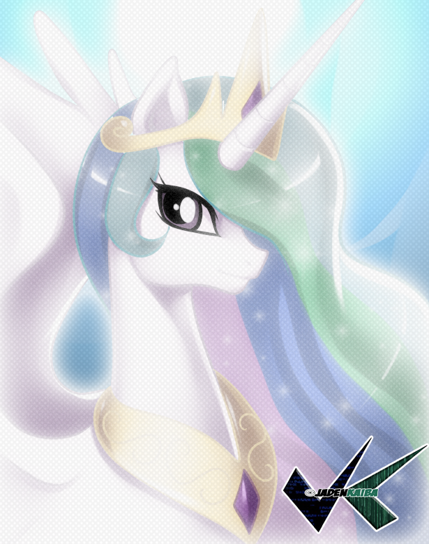 Artwork: Princess Celestia by jadenkaiba