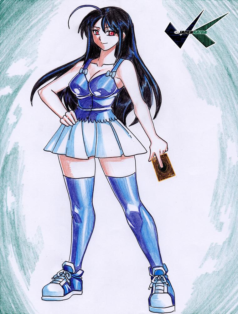 Commission: Roxanne by jadenkaiba